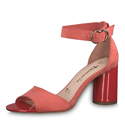 Tamaris Damen Sandaletten 1 1 28021 32, Frauen Sommerschuhe,offene Absatzschuhe