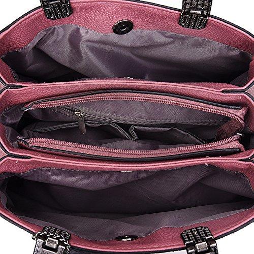 Nuevo Único Gwqgz Diagonal Versátil Elegante Casual Paquete Bolsos Y Bolso El Y Señoras Minimalista BBwqFHP5