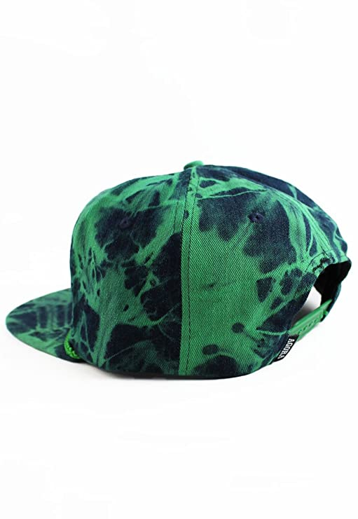 f5c7382b54c Agora Tie Dye Denim Fresh Prince Snapback Hat  Amazon.co.uk  Clothing