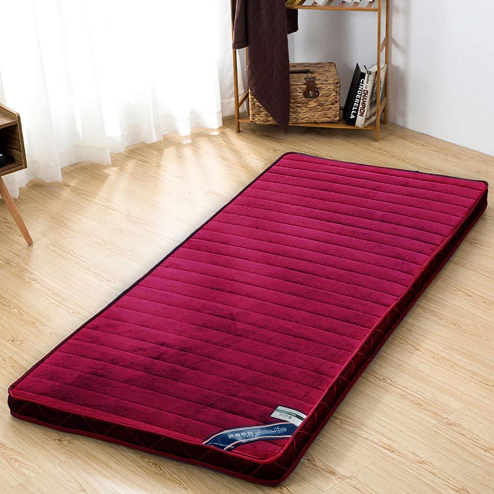 厚め ベッドパッド, 柔らか 折りたたみ 布団畳 肌に優しい マットレス トッパー シングル ダブル ホーム 学校-c 150x200cm(59x79inch) B07S1BDRGH C 150x200cm(59x79inch)
