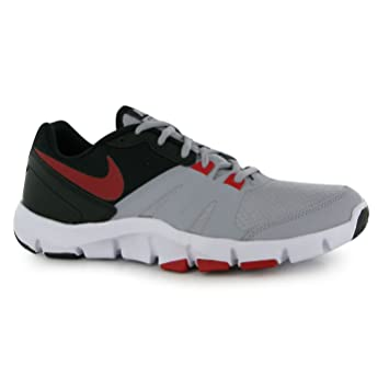 1d938ccb38f7 Nike Flex Show TR4 Training Shoes Mens Grey Red Black Fitness Trainers  Sneakers (