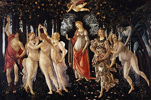 Botticelli Sandro Canvas - Berkin Arts Sandro Botticelli Giclee Canvas Print Paintings Poster Reproduction Large Size(Primavera Spring)
