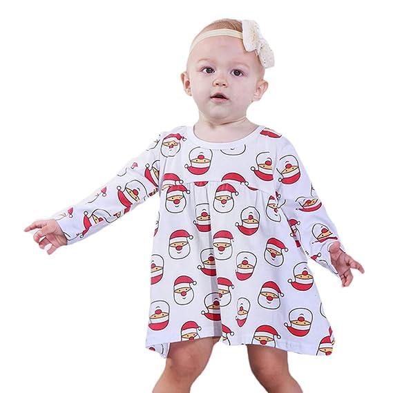 Amazon.com: Bebogo – Camiseta de Navidad de manga larga para ...