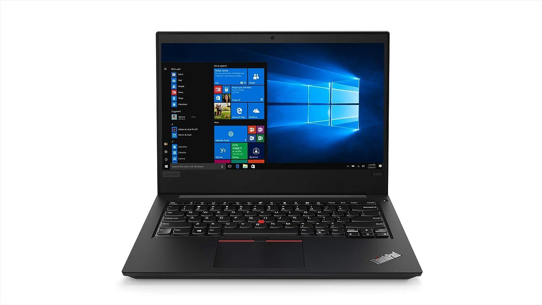 Lenovo ThinkPad E480 14-inch Laptop (Core i5-8250U/8GB/DOS/Integrated Graphics), Black