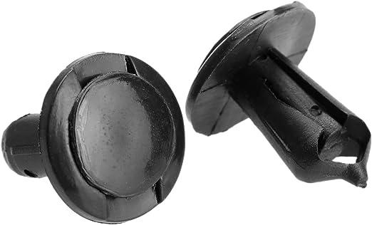8 mm 50 pezzi fori di chiusura a pressione clip Fender rivetti in plastica per Auto Dophee