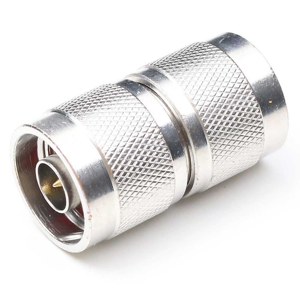 Amazon.com: ANHAN N type Male to Male Adapter Connector N type male Connector N-JJ RF coaxial Adapter RF Straight Adapter Connector Wi-Fi Adapter Coupler 2 ...