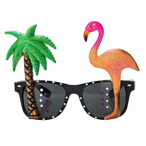 Funny Rotyr Creativa pers onality Flamingo Coconut Tree ...