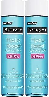 Neutrogena Hydro Boost Loción hidratante desmaquillante sin alcohol – Juego de 2 unidades