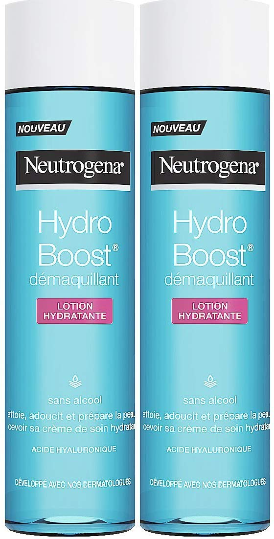 Neutrogena Hydro Boost Latte Detergente Lozione Idratante senza alcool–Set di 2