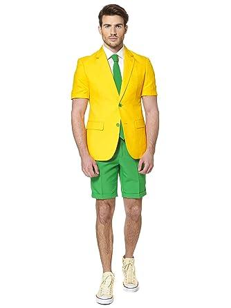 Traje de Verano Mr Brasil Hombre Opposuits S(EU 46): Amazon.es ...