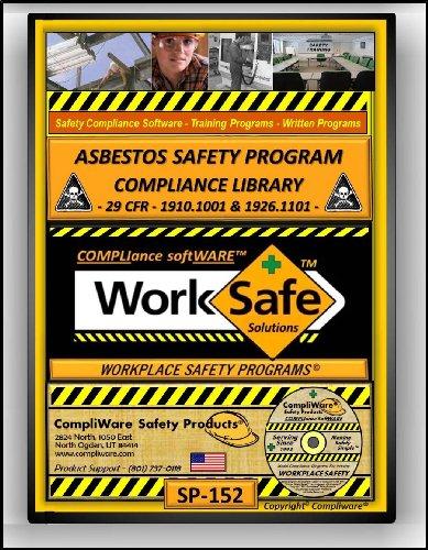 - SP-152 - ASBESTOS SAFETY COMPLIANCE LIBRARY – OSHA - 29 CFR 1910.1001 & 29 CFR 1926.1101 - UPC - 639737375398
