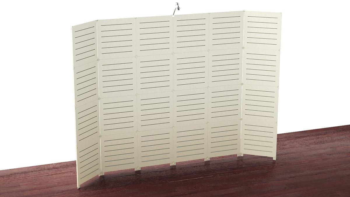 Used Trade Show Booth : Amazon gogo panels capital used display cream white