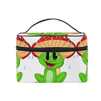 Bolsa de cosméticos Organizador de Dibujos Animados Rana y ...