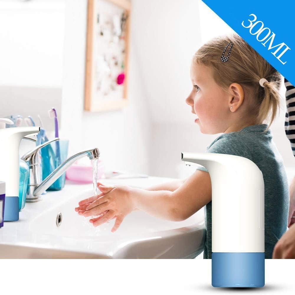 Arespark Dispenser Automatico di Sapone Senza Contatto lavamani Ideale per Cucina e Bagno 350 ml sensore a infrarossi
