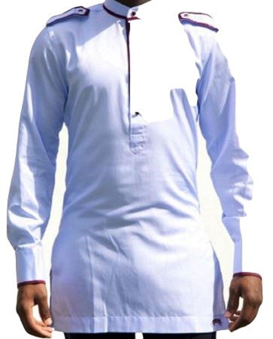 824e4f6c Amazon.com: Africa Blooms African Clothing for Men.Dashiki for Men-AfricanWear.Dashiki  Shirt: Clothing