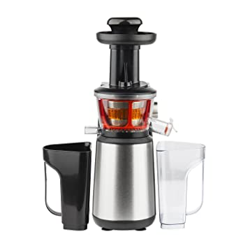 "H.Koenig GSX12 Entsafter ""Slow Juicer"" 400 W, edelstahl: Amazon.co ... 