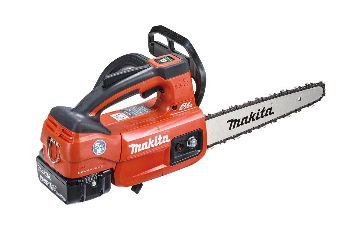 マキタ(Makita) 充電式チェンソー(赤) ガイドバー長さ250mm 18V 6Ah バッテリ2本充電器付 MUC254CDGR B0725829GQ