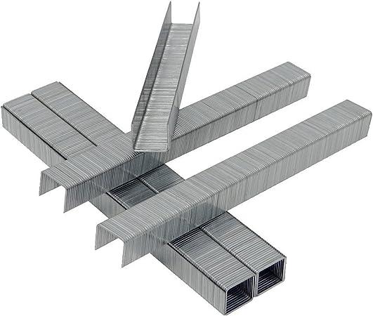 8 mm/│/Zincato/│/Acciaio/│/Agrafes/│/Graffe/adesive/│/Punti zincati per graffatrice │ by/FD-Workstuff Graffe/al Filo/│/5.000/pezzi/│/Tipo/53