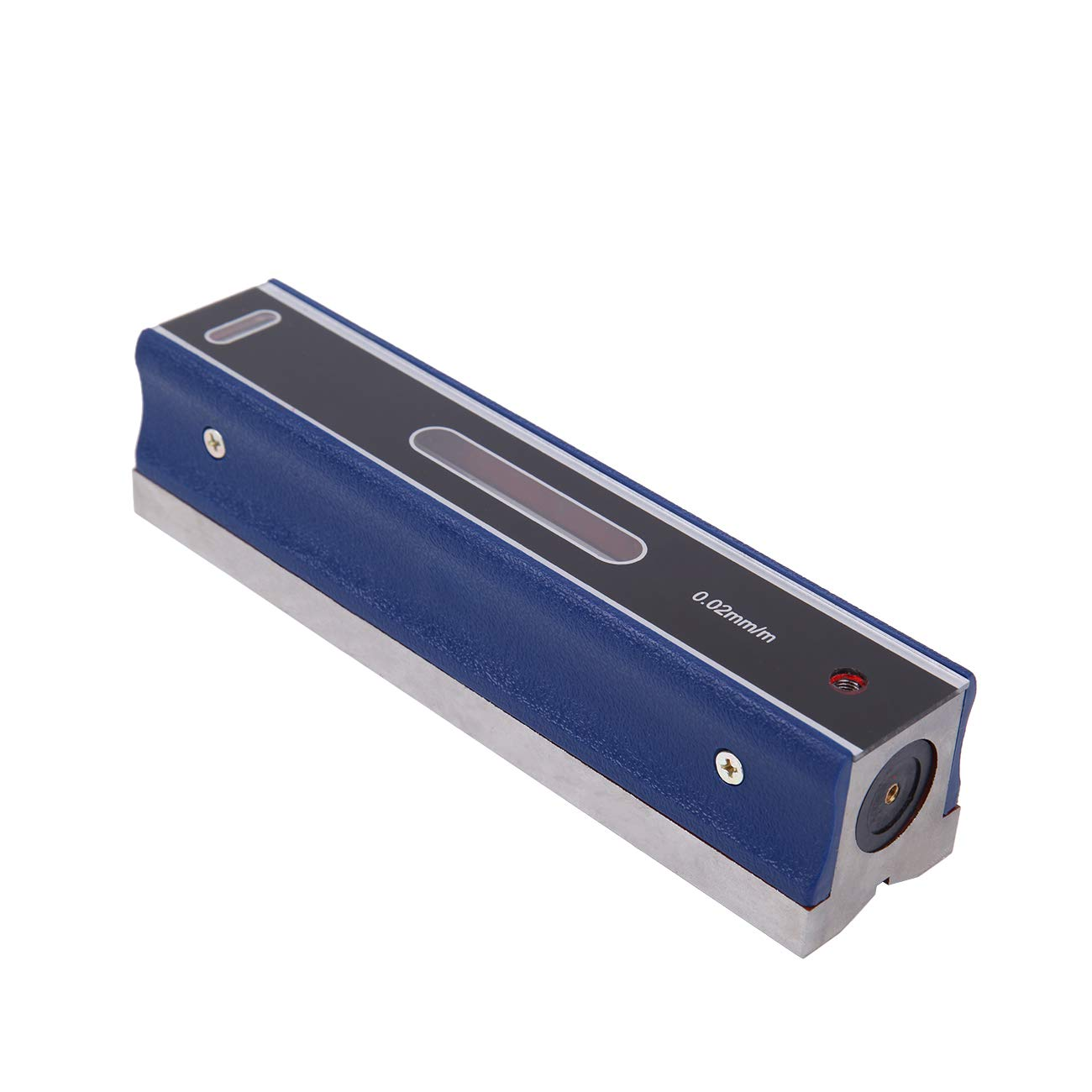 PanelTech 8'' Master Precision Level Bar Inspection Block Mechanist Measurement Bar Accuracy 0.0002''/10'' With Wooden Case