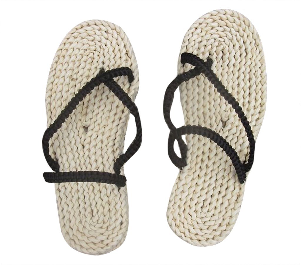DAZCOS Adult/Kids Handmade Luffy Straw Sandals Cosplay Shoes[US 4 - US 13] (US 10-11) by DAZCOS (Image #1)