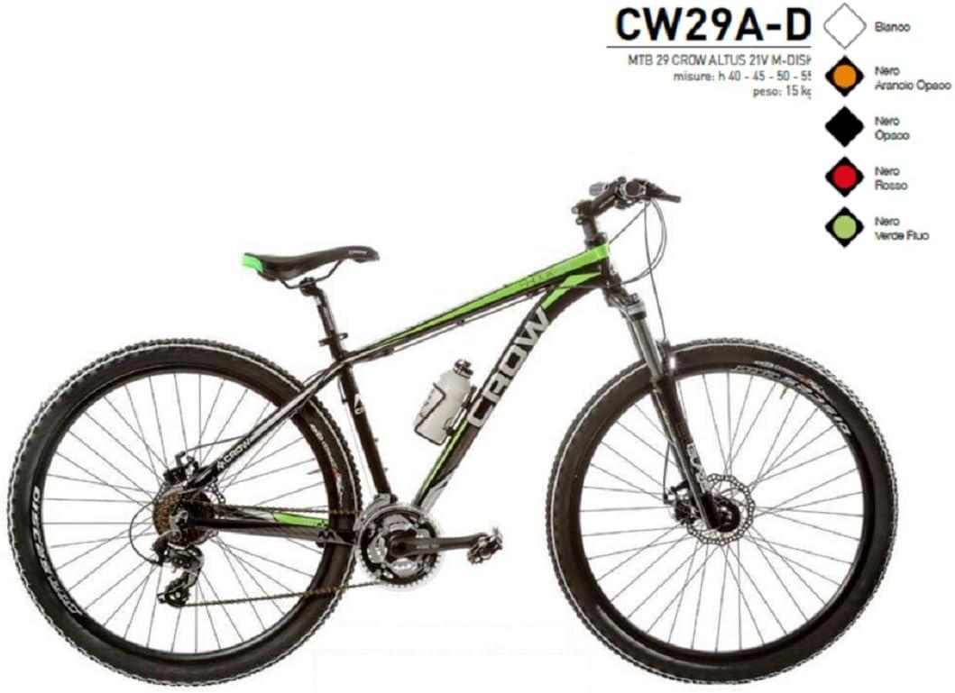 Bicicleta 29 Crow aluminio Shimano Altus 21 V m-disk Modelo cw29 ...