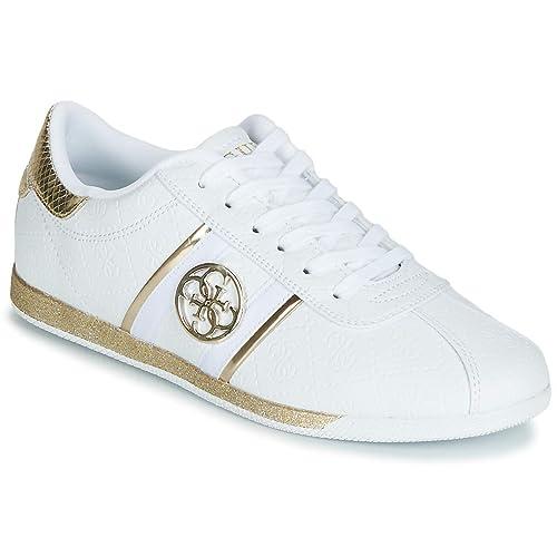 c245ff6e07 Di Sneakers scarpe Sconti Negozio Donna Online Guess Bianco zUpMVqSG