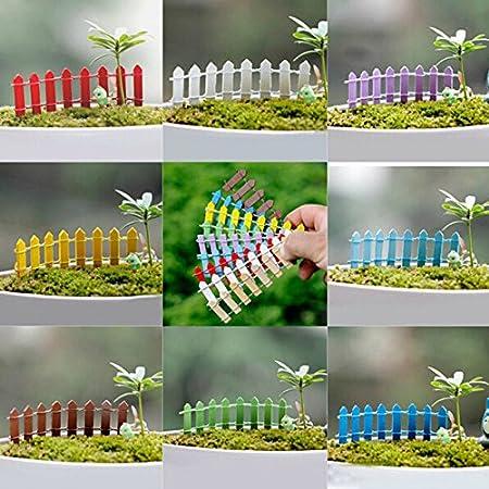 Green Bambou bordure de jardin en plastique pour bordures de jardin et parterres de fleurs en treillis Cl/ôture en bois Mini panneaux de jardin Guoyihua Panneaux de cl/ôture de jardin 2#