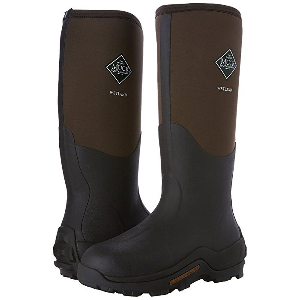 Muck Boot Men's Wetland Waterproof/Work/Insulated/Gardening/Camping 10 M Brown by Muck Boot (Image #3)