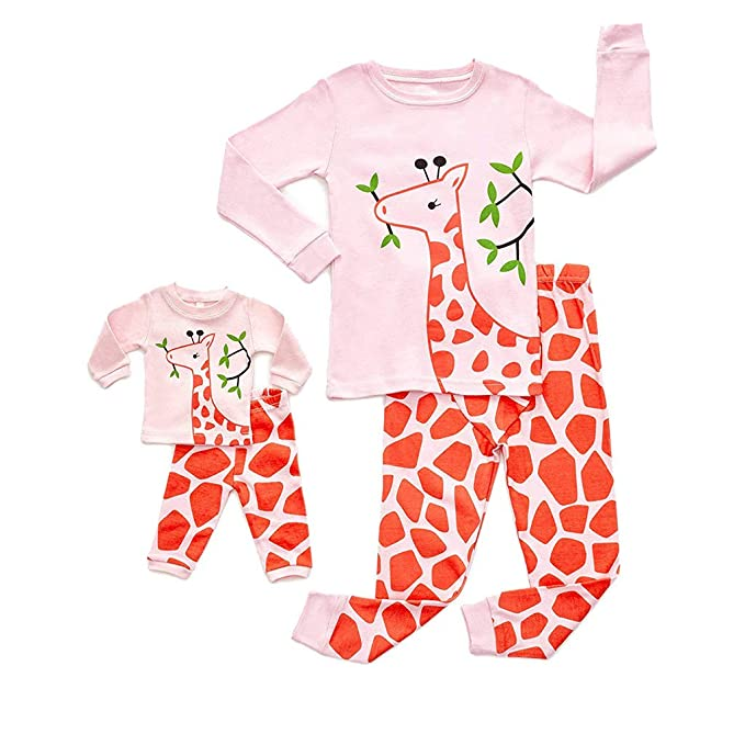 f820fad6c532d Doll & Girls Pajamas,Vovotrade Newborn Baby Cartoon Deer Print Long ...