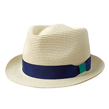 SUSHI Sombreros de Paja Masculinos y Femeninos - Sombreros de Sol de Ocio  de Verano Sombrero 945fb9da39e