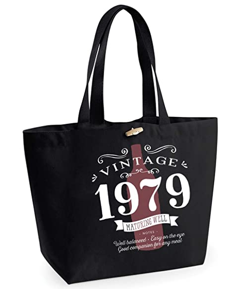 40th Birthday 1979 Keepsake Vintage Wine Funny Gift Gifts For