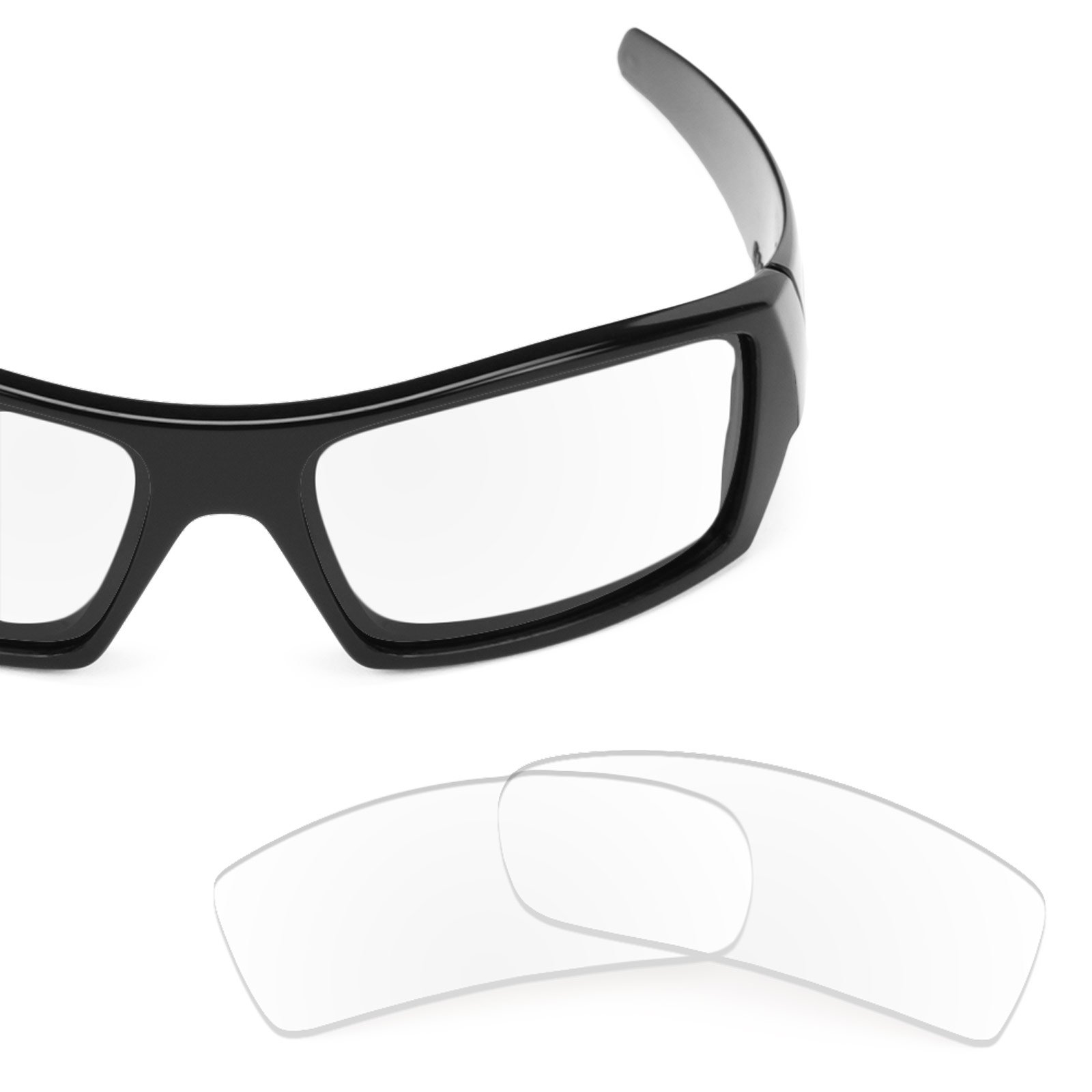 Revant Replacement Lenses for Oakley Gascan Crystal Clear