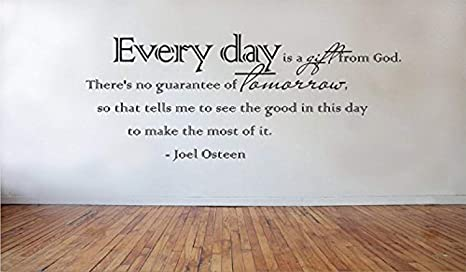 Amazoncom A Design World Home Quotes Wall Stickers Every Day Is A
