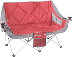 Oztrail Galaxy Double Moon Chair Camp Outdoor Seat