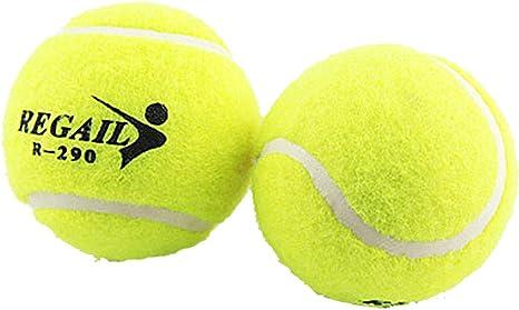 Pelotas de tenis a presión principiante formación pelota deporte jugar Cricket Perro de juguete pelota Pack de 12 por BIPY: Amazon.es: Deportes y aire libre