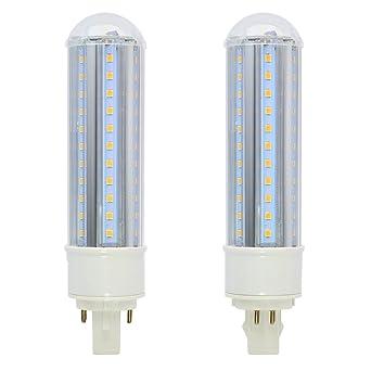 G24Q-1 15W LED PLC Lámpara Universal G24d 2-pin G24q 4-pin