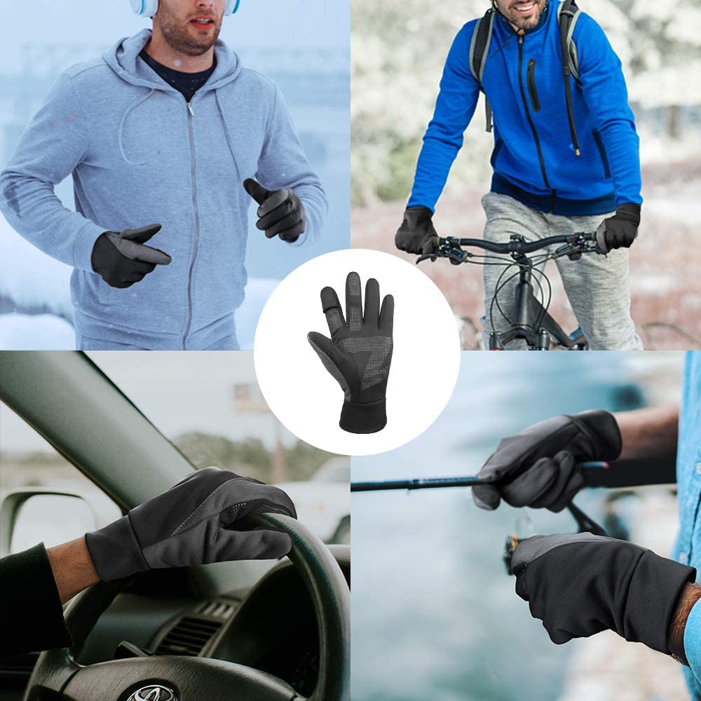Cierto Winter Gloves for Men Cold Weather Thermal Protection Waterproof/&Windproof X-Large