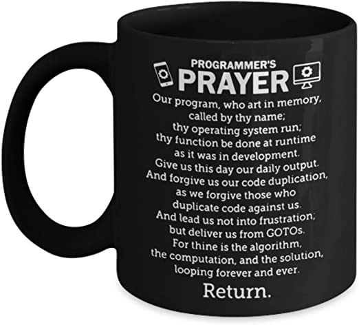 Makes A Great Gift For Programmers Black Ceramic Coffee Mug Coffee Program Coffee Mugs Home Kitchen