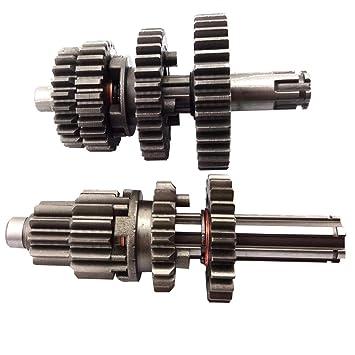 amazon com tc motor motorcycle yx110 yx125 transmission gear box Motorcycle Transmission Gears