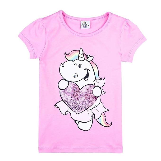 Baby Mütze rosa mit Herzchen Pummel /& Friends - Pummeleinhorn
