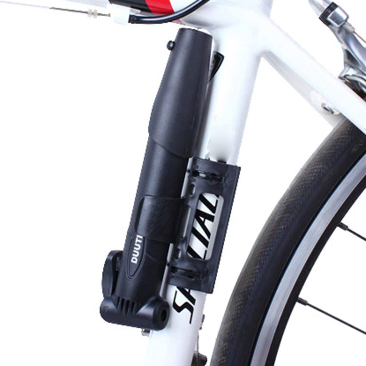 Comomingo Bicicleta Bomba de Mano Bicicleta de monta/ña Bomba de neum/áticos Inflador de Bola de Aluminio Bomba de Bicicleta