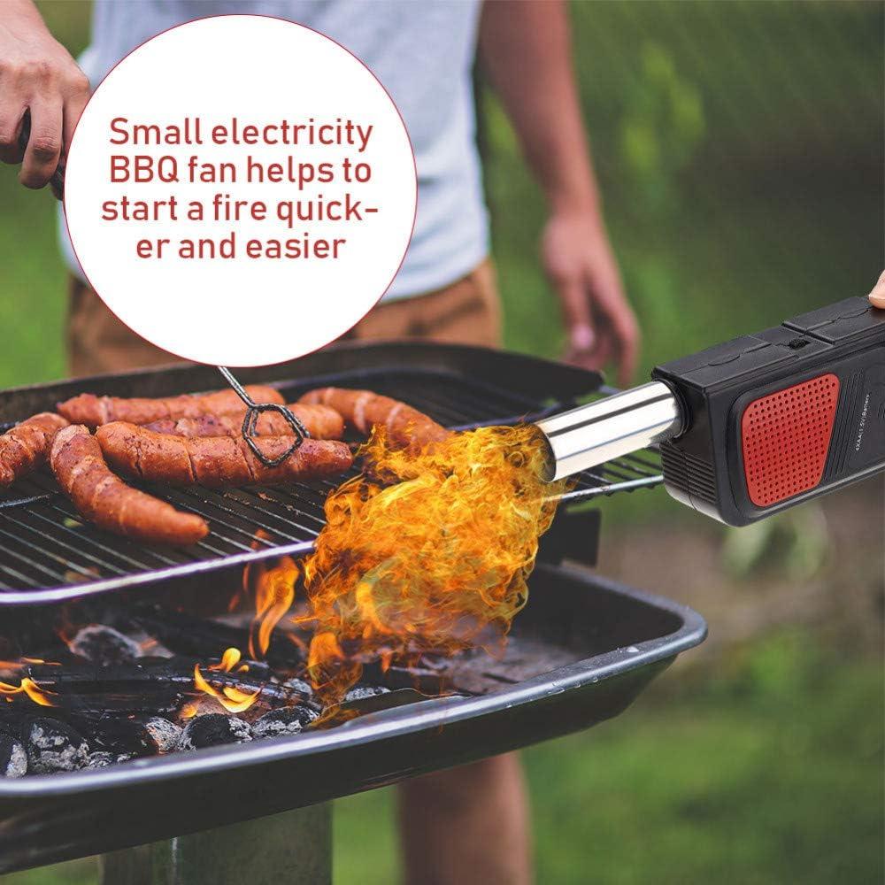 QWERTOUR BBQ Ventilator Air Blowers Handheld Elektrische