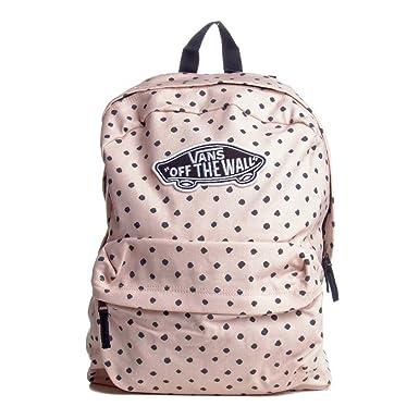 Vans Rucksack – Realm Backpack Sepia Shibor rosa/schwarz: Amazon.de ...