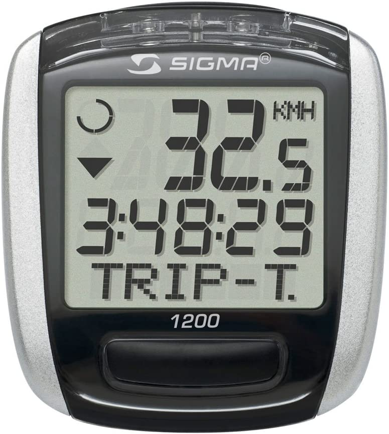 Sigma Baseline 1200 Cuentakilómetros, Unisex, Negro: Amazon.es ...