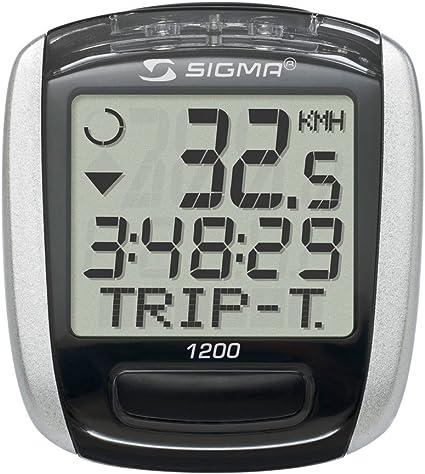 Sigma Bc 1200 Tacho M Kabel 12 Funk Amazon De Sport Freizeit