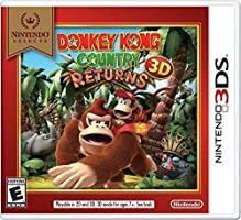 Donkey Kong Select - Country Returns - Nintendo 3Ds