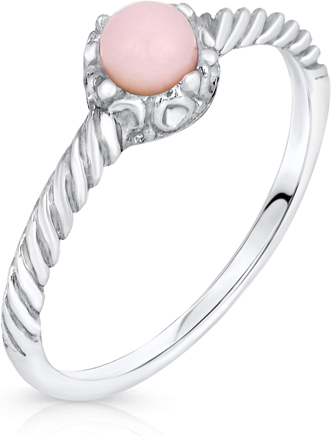 Caratera Solitaire Jeweled Rings 925 Sterling Silver