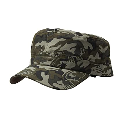 Unpara 2018 Clearance Sale Summer Outdoor Camouflage Cap Vintage Army  Military Cadet Style Hat Adjustable ( 413deaa4138