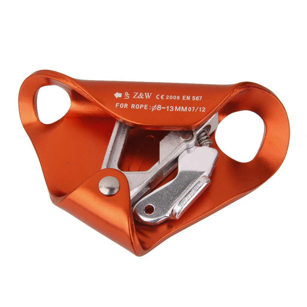 MagiDeal Outdoor Chest Ascender for 8mm-13mm Rope Climbing Rescue Caving Orange