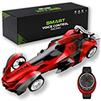 Maifeituo Remote Control Car, Watch & Customized Voice Command RC Race Vehicle, Radio High Speed Control Car with a Rechargeable Battery